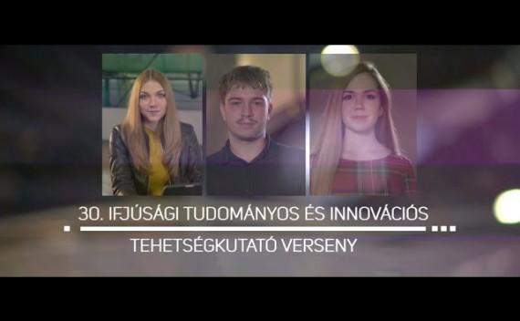 30. Ifjúsági tudományos és innovációs tehetségkutató verseny (2020/2021-es tanév)